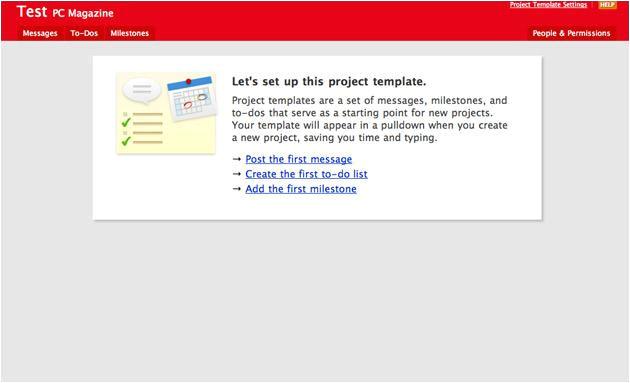 Basecamp Project Templates Basecamp Slide 10 Slideshow From Pcmag Com