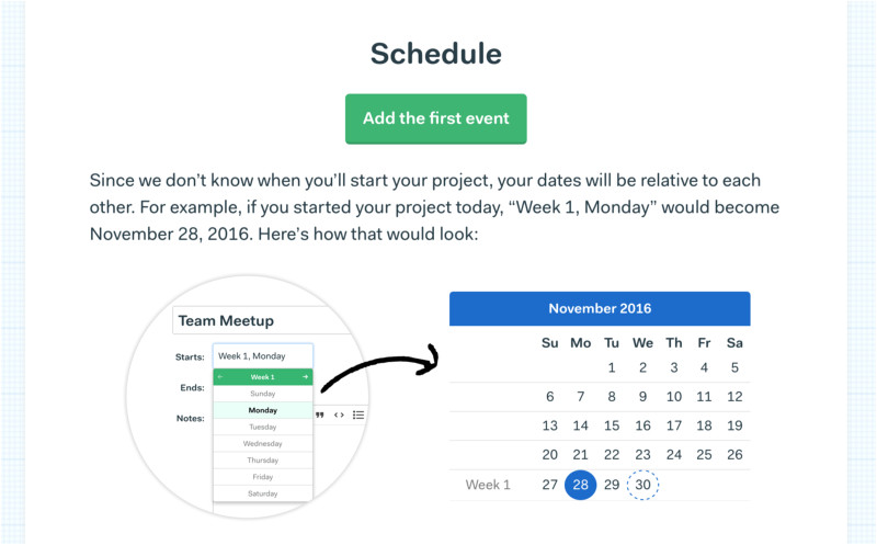 new basecamp 3 project templates