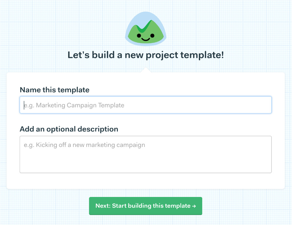 new in basecamp 3 project templates