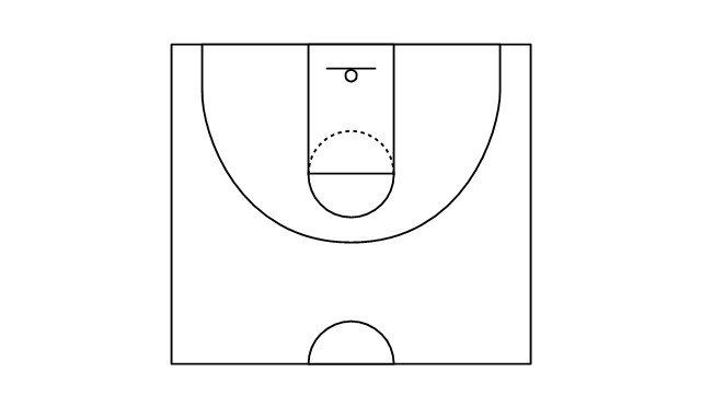 in basketball the basketball court is the playing surface consisting