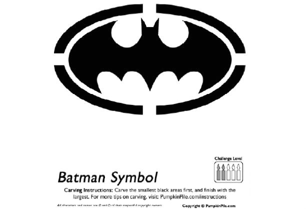 post batman pumpkin stencils free printable 258302