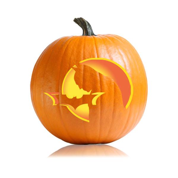 batman pumpkin stencil