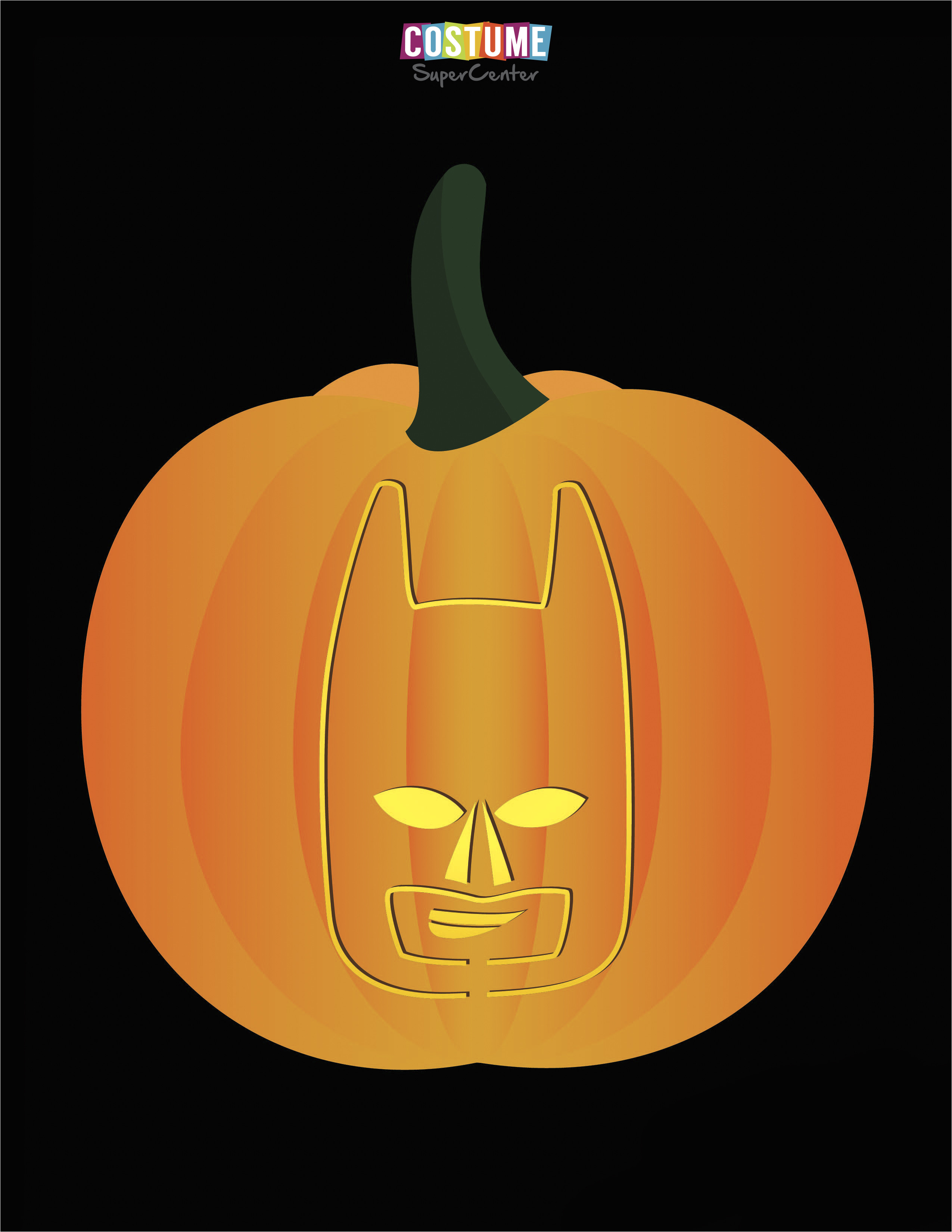 Batman Pumpkin Carving Templates Free Fun and Free Printable themed Pumpkin Carving Stencils