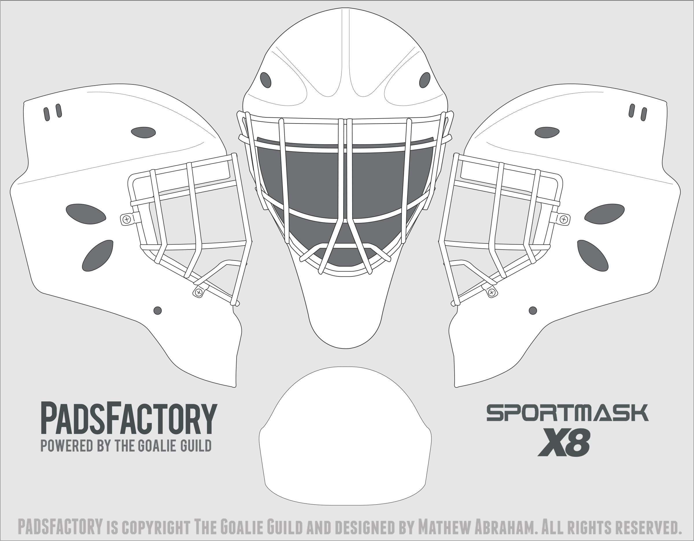 Bauer Goalie Mask Template Search Results for Bauer Goalie Mask Template Calendar