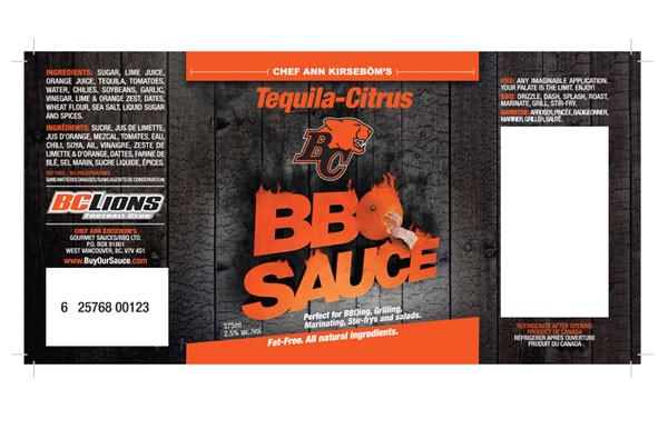 bc lions bbq sauce