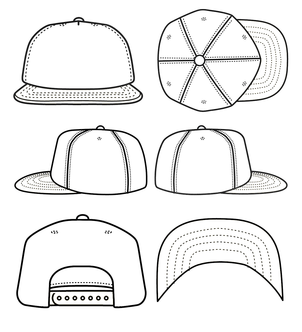 new 77 beanie hat design template