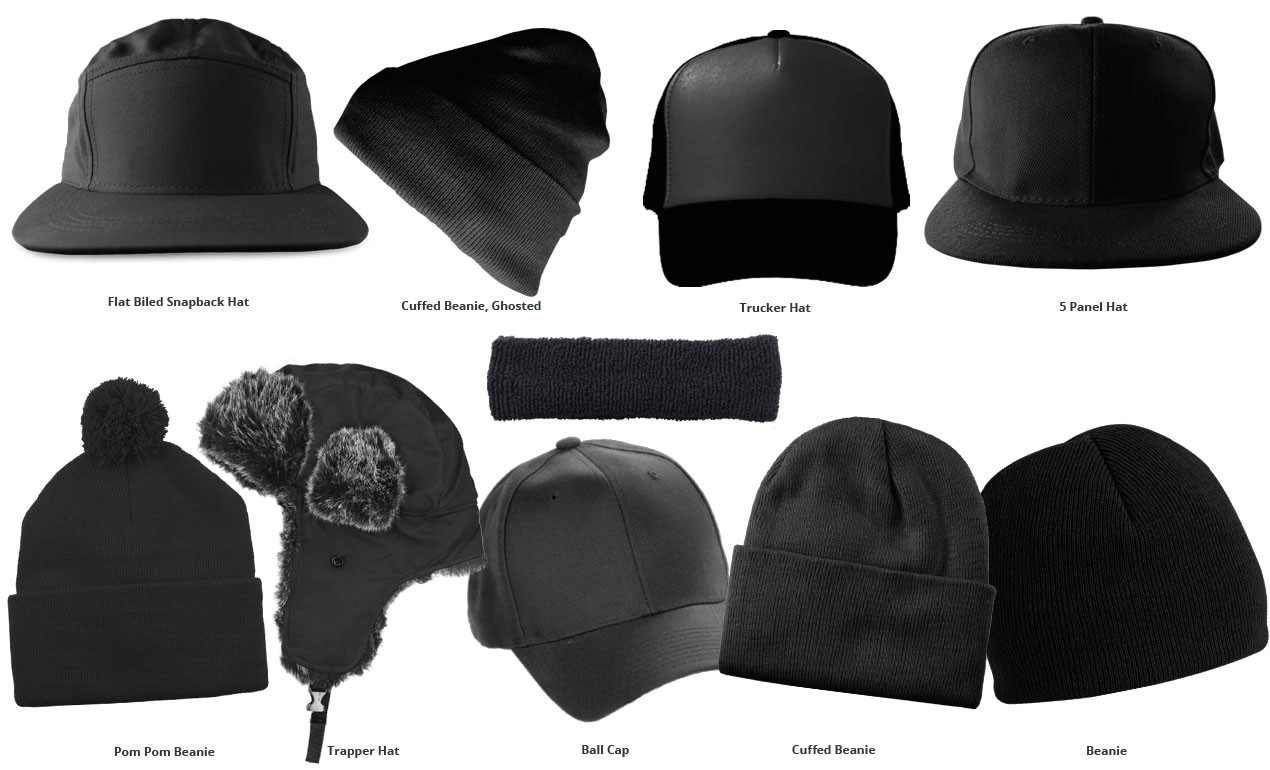 hat mockup templates pack
