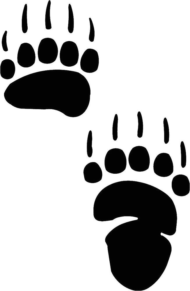 Bear Footprints Template 33 Best Images About Bear Paw Tattoos On Pinterest Bear
