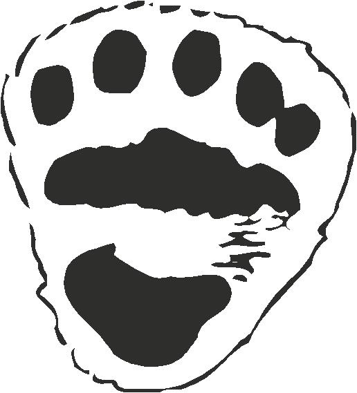 Bear Footprints Template Polar Bear Paw Print Template Search Results Calendar 2015
