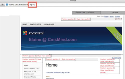 joomla 3 3 tutorial how to view template module positions