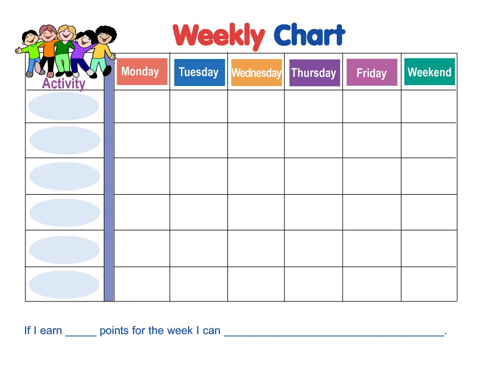 printable 10 step behavior charts for kids to build a habit