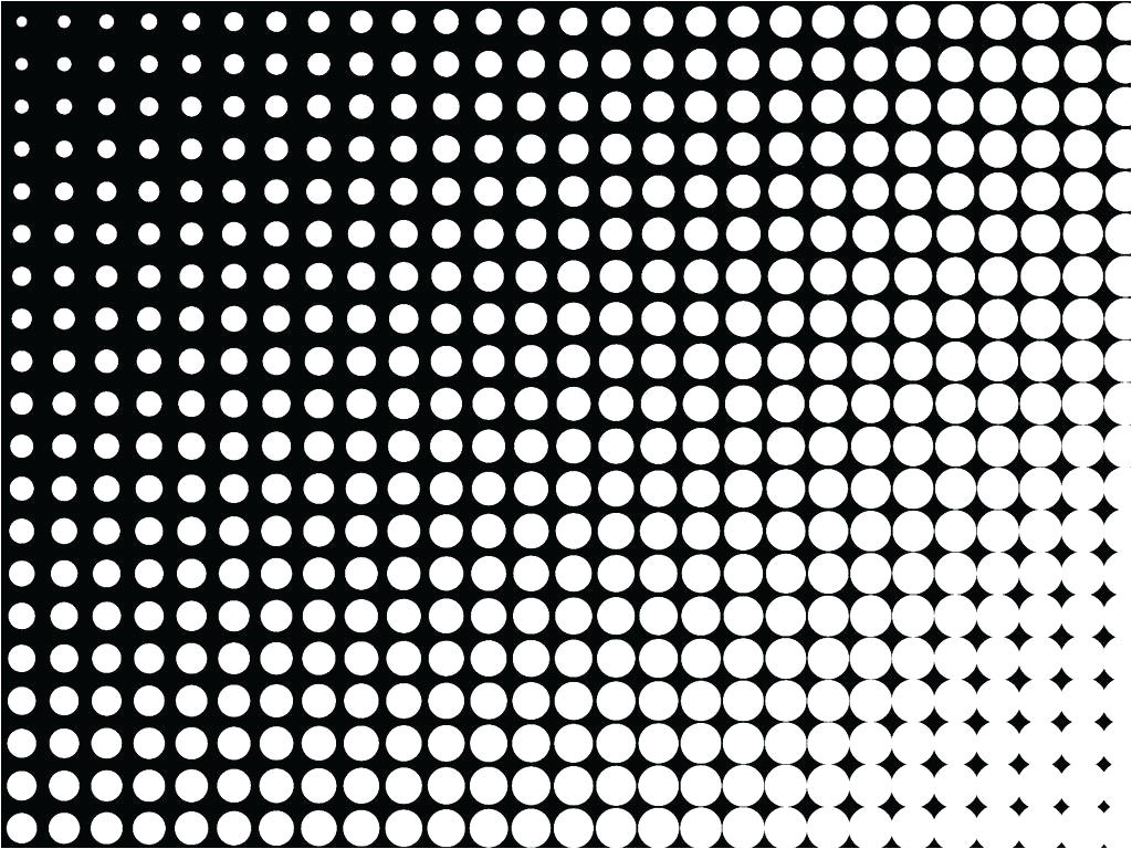 ben day dots template