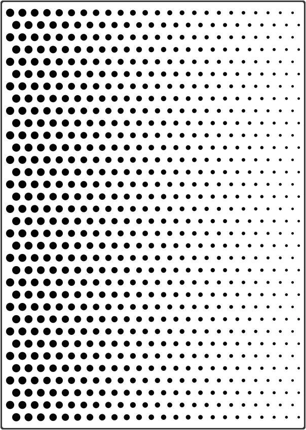 benday dot stencil 6522
