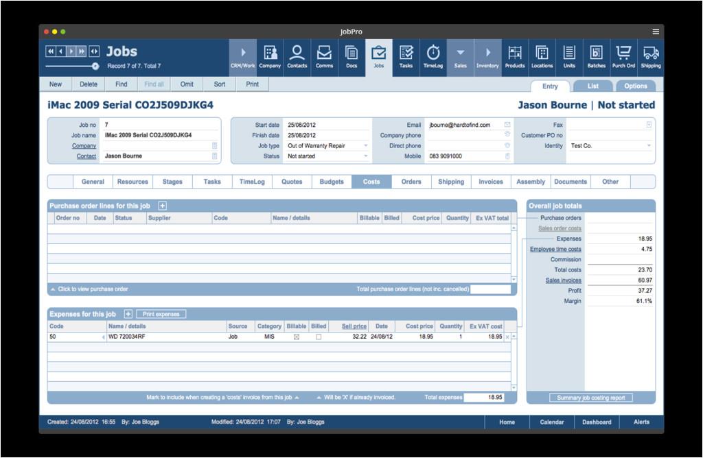 bento database templates