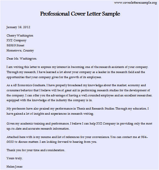 Best Cover Letter for It Professional Professional Cover Letter Sample Best Resume format