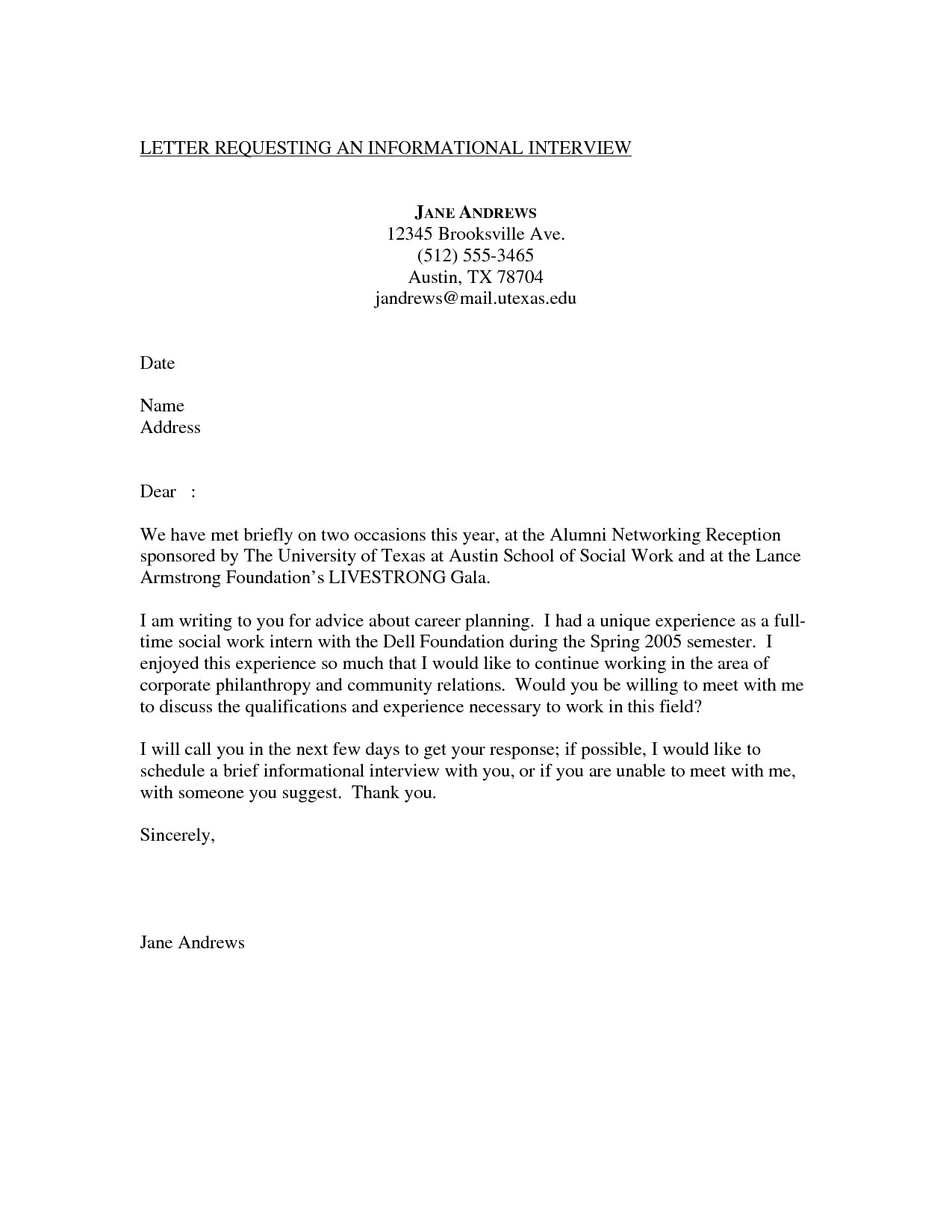post sample cover letter requesting interview 381350