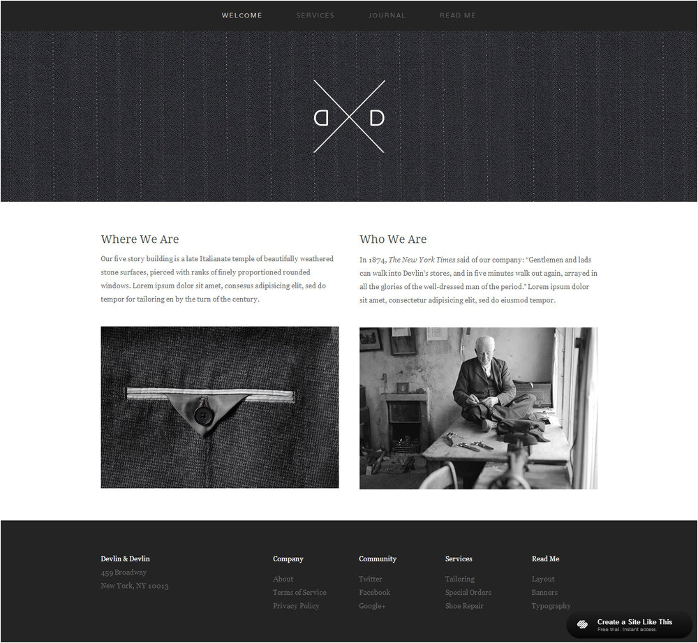 squarespace design templates