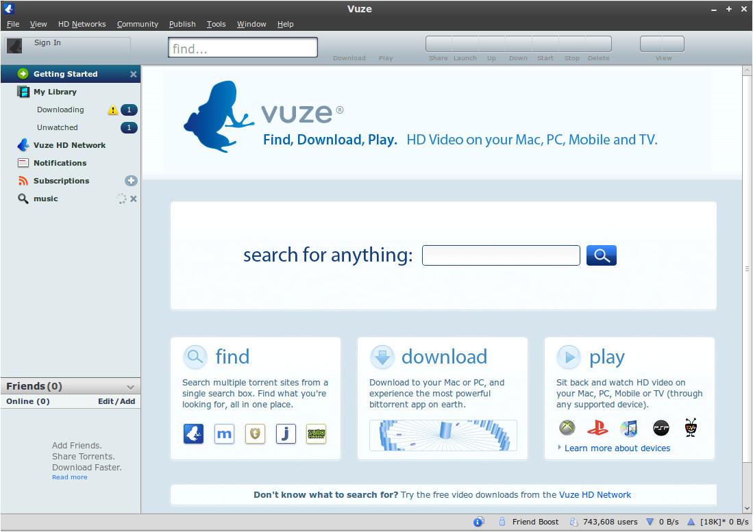 Best vuze templates