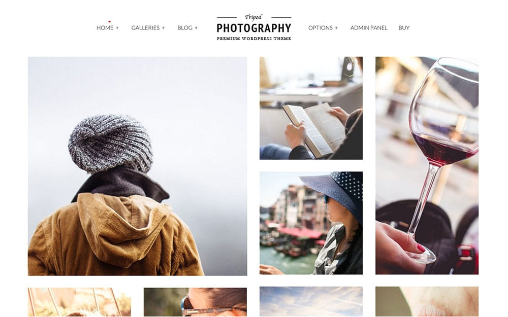 best photography themes