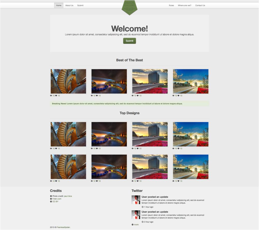 Big Cartel Design Templates Q Q Web Development Design Gallery Responsive Template