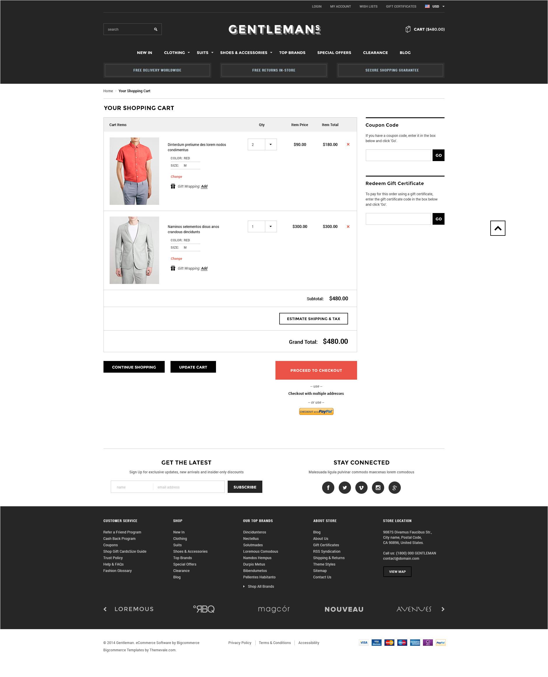 gentleman premium responsive bigcommerce template