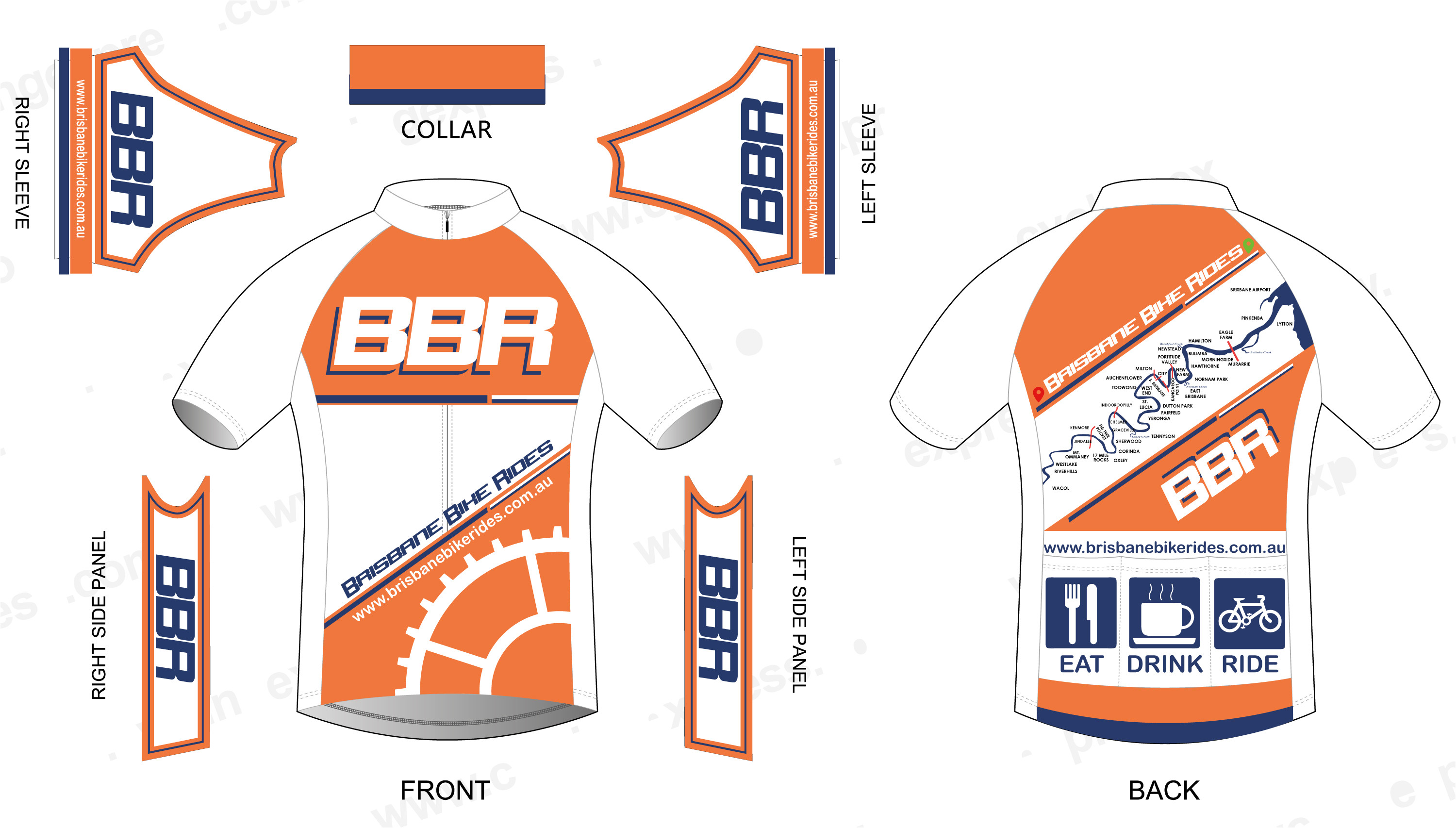 Bike Jersey Design Template Cycling Jersey Template Ai Templates Resume Examples