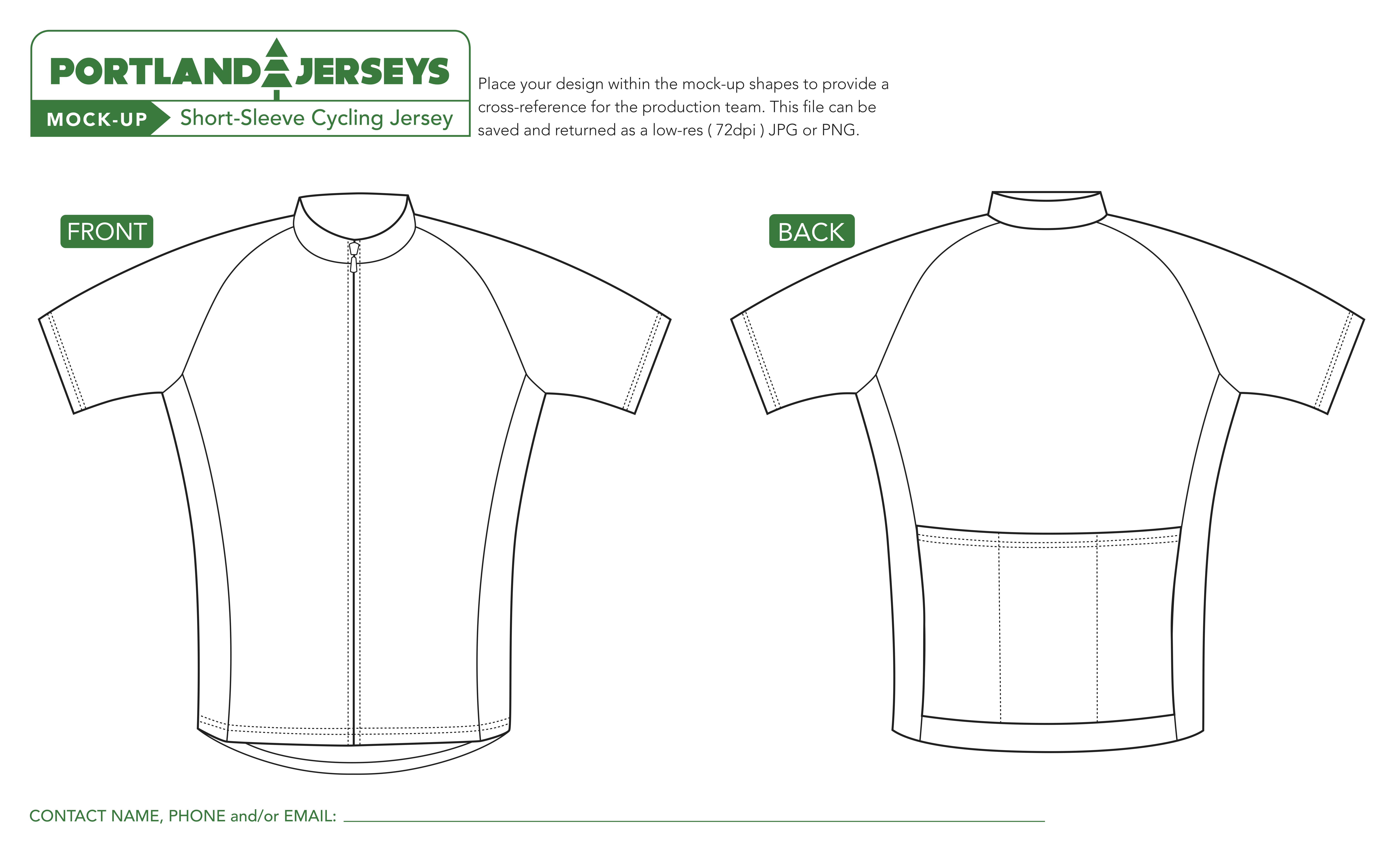 Bike Jersey Design Template Cycling Jersey Template Pdf Image001 Templates Collections