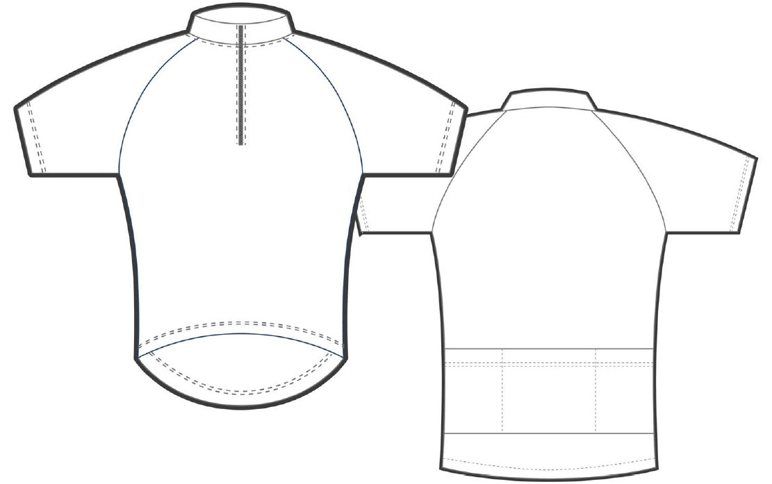 cycling jerseys design template