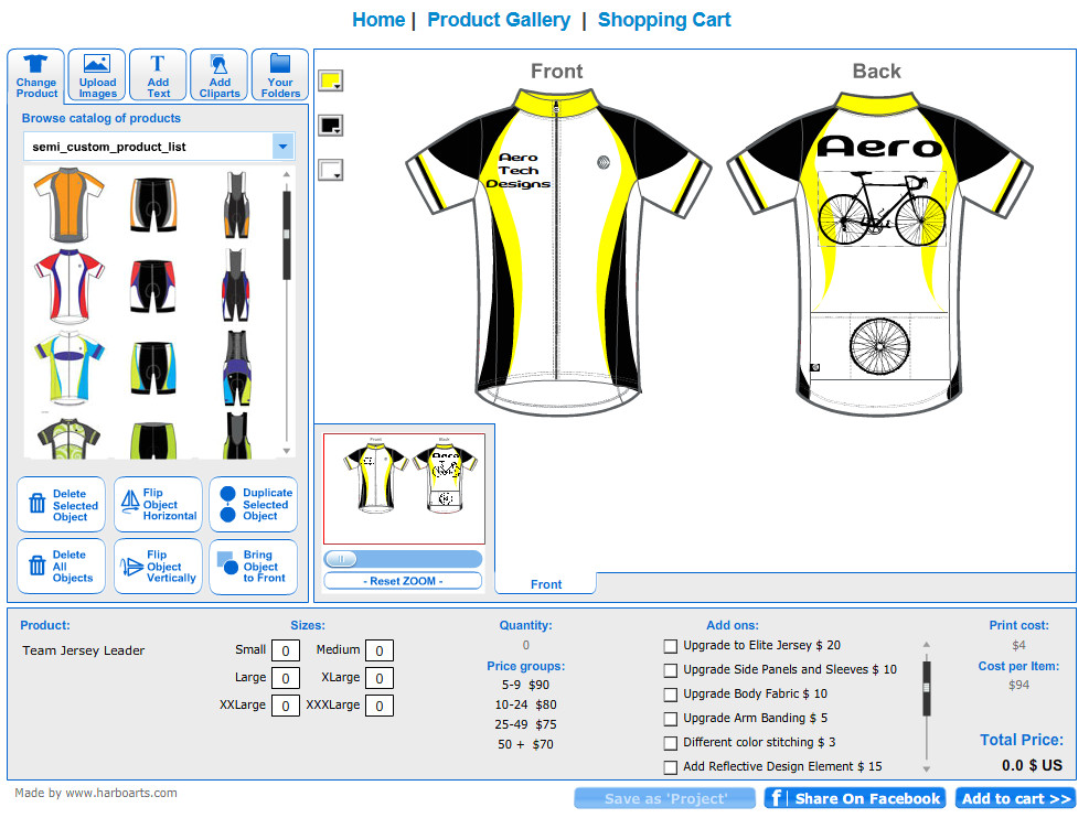 Bike Jersey Design Template Quality Semi Custom Cycling Clothing Kits Made In the Usa