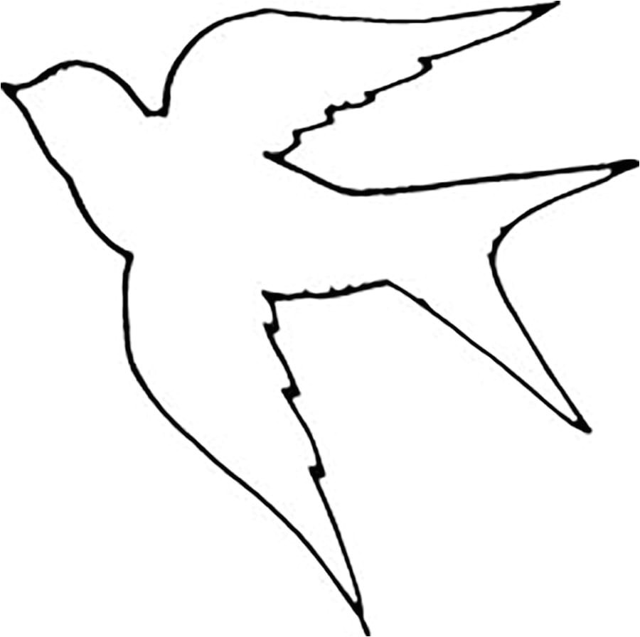 bird cut out template
