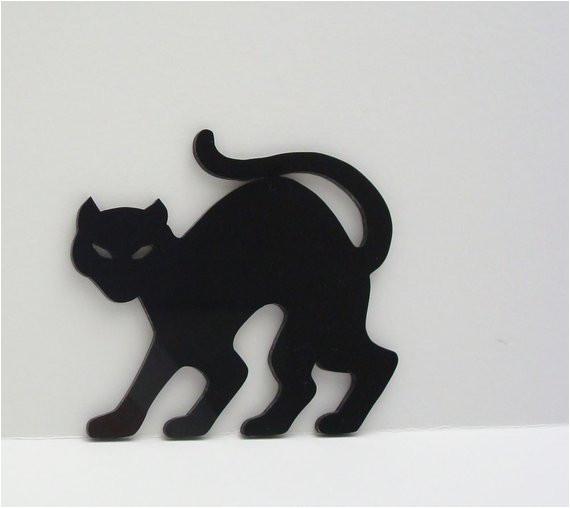 halloween decoration black cat ornament