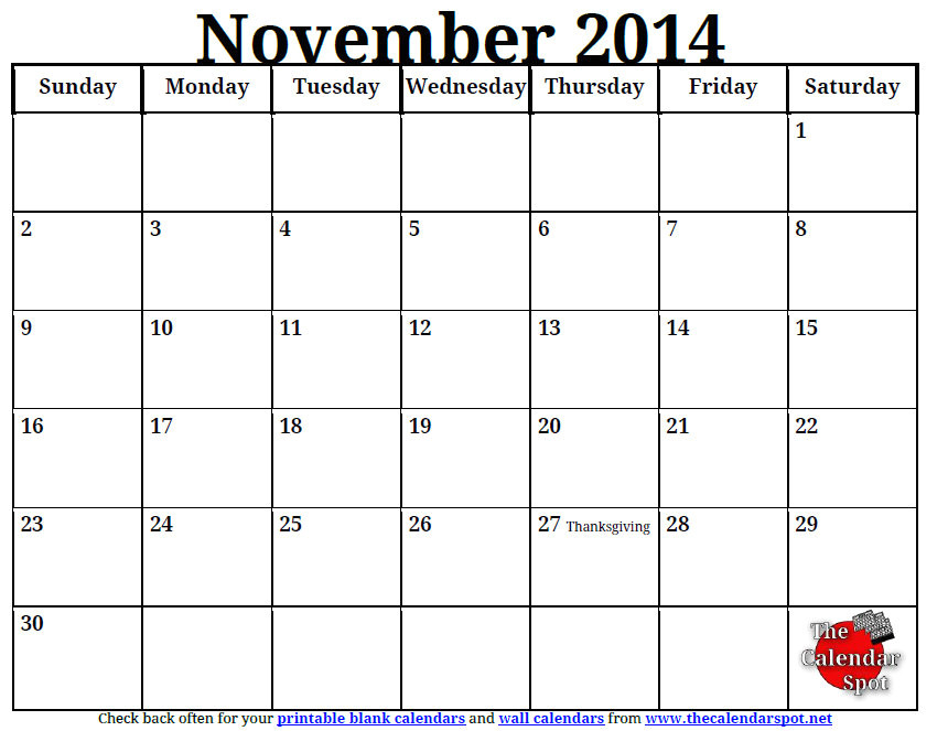 post printable november monthly schedule 92755