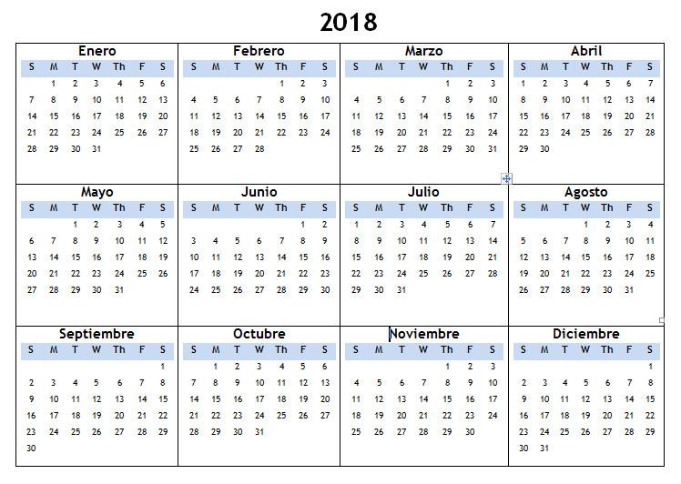 blank spanish calendar 2018 french calendar with holidays printable