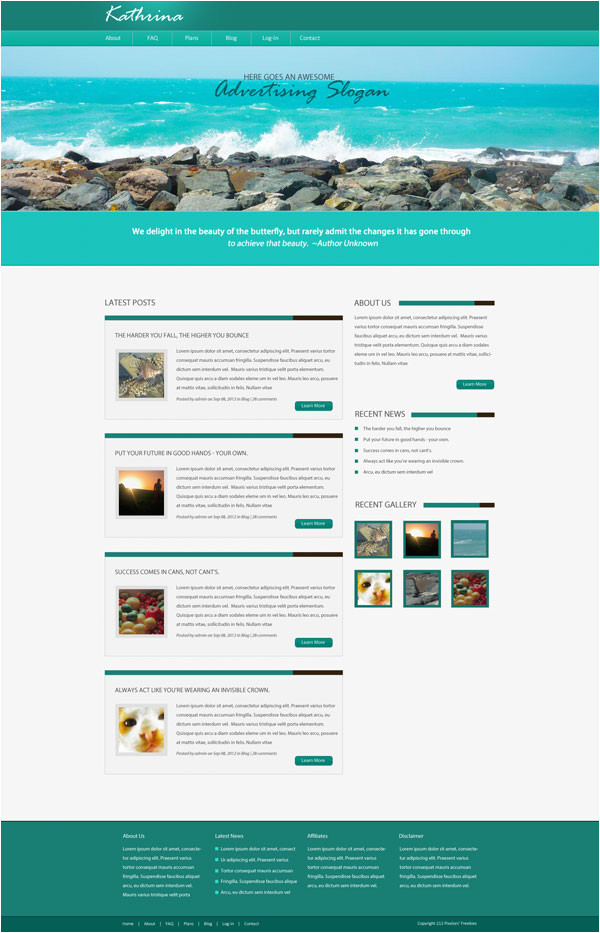 cms designed website