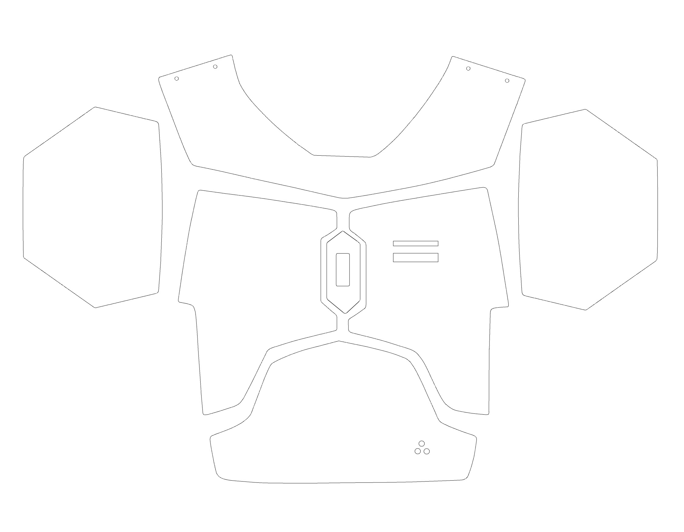 chest armor template