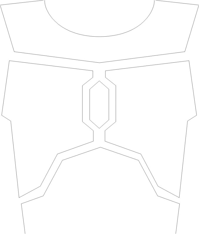 Boba Fett Armor Template Costume Templates and Tutorials Mandalorian Mercs