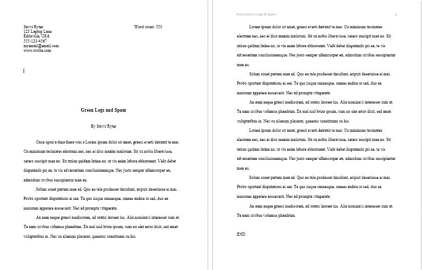 book template word how to layout a in childrens story free