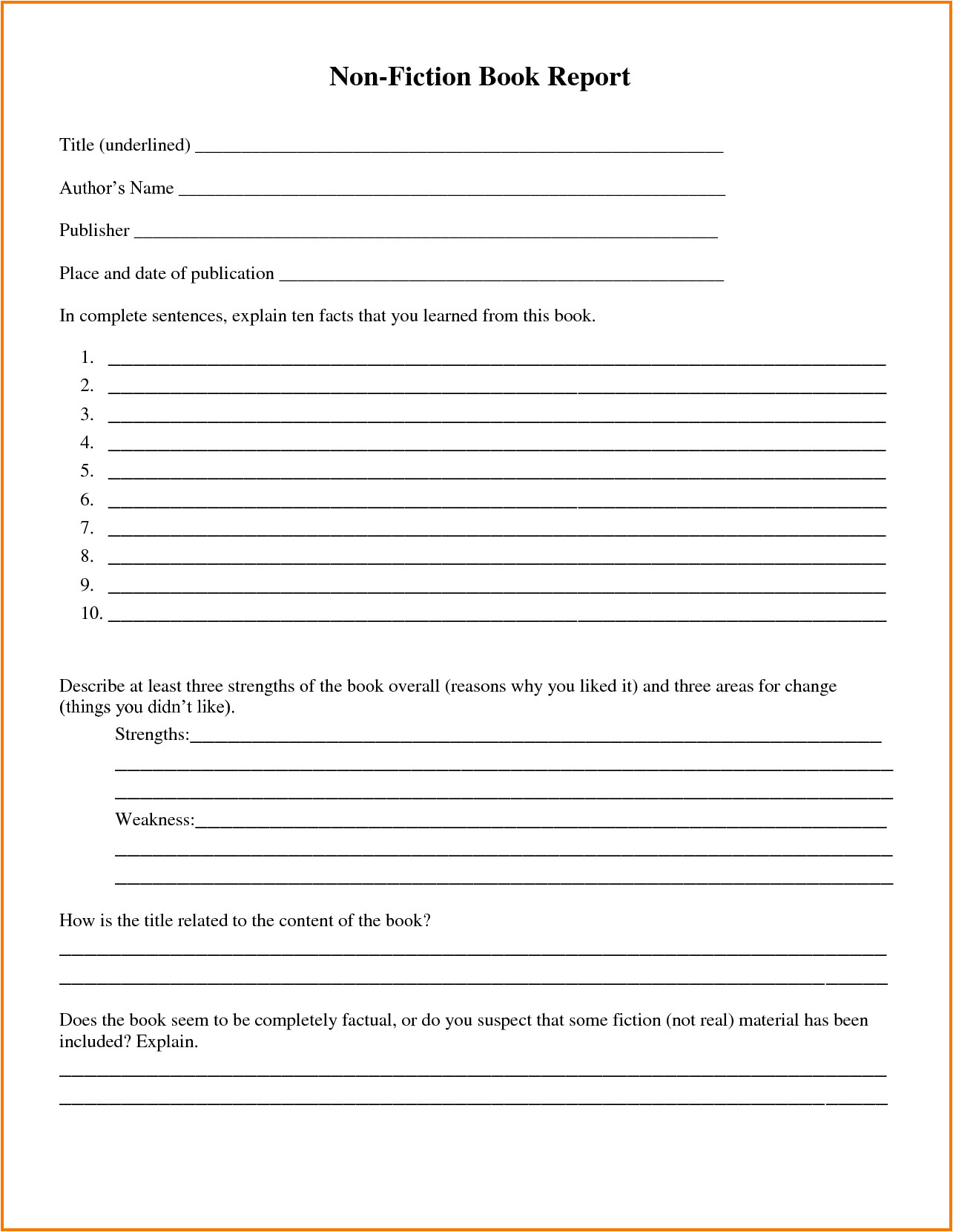 Book Review Template Elementary A Short Essay On the Star Spangled Banner Amato P