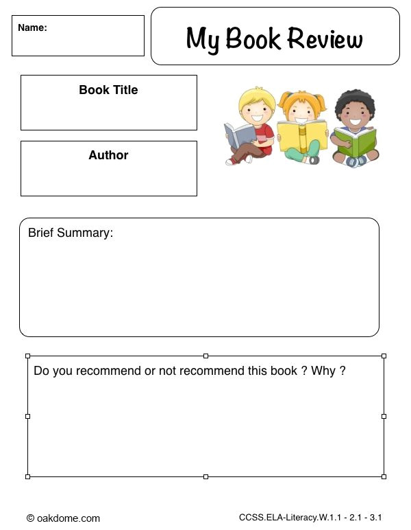 Book Review Template Elementary Free First Grade Book Review Template Book Review