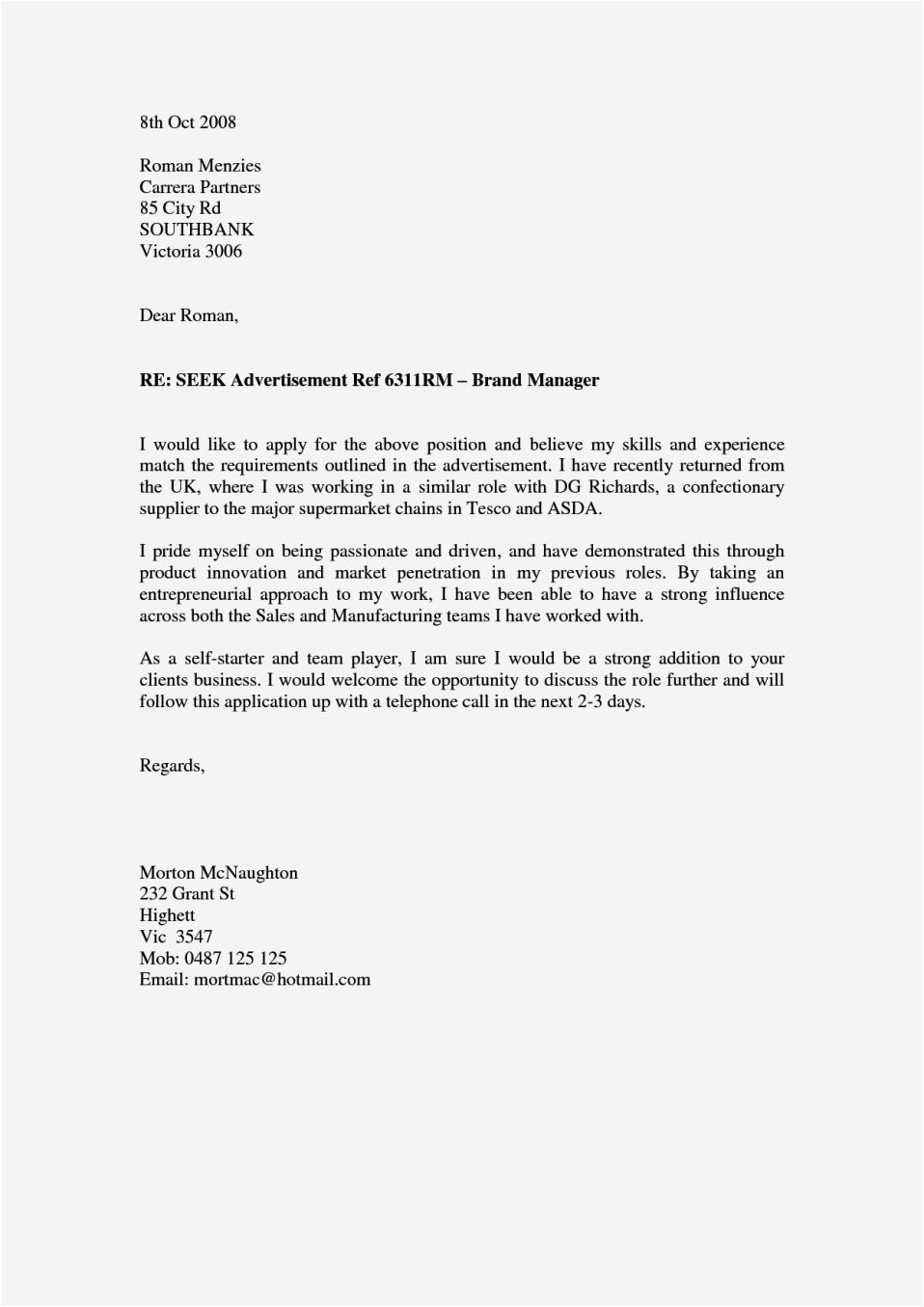 accountant cover letter no experience