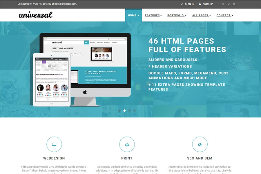 bootstrap templates 2015