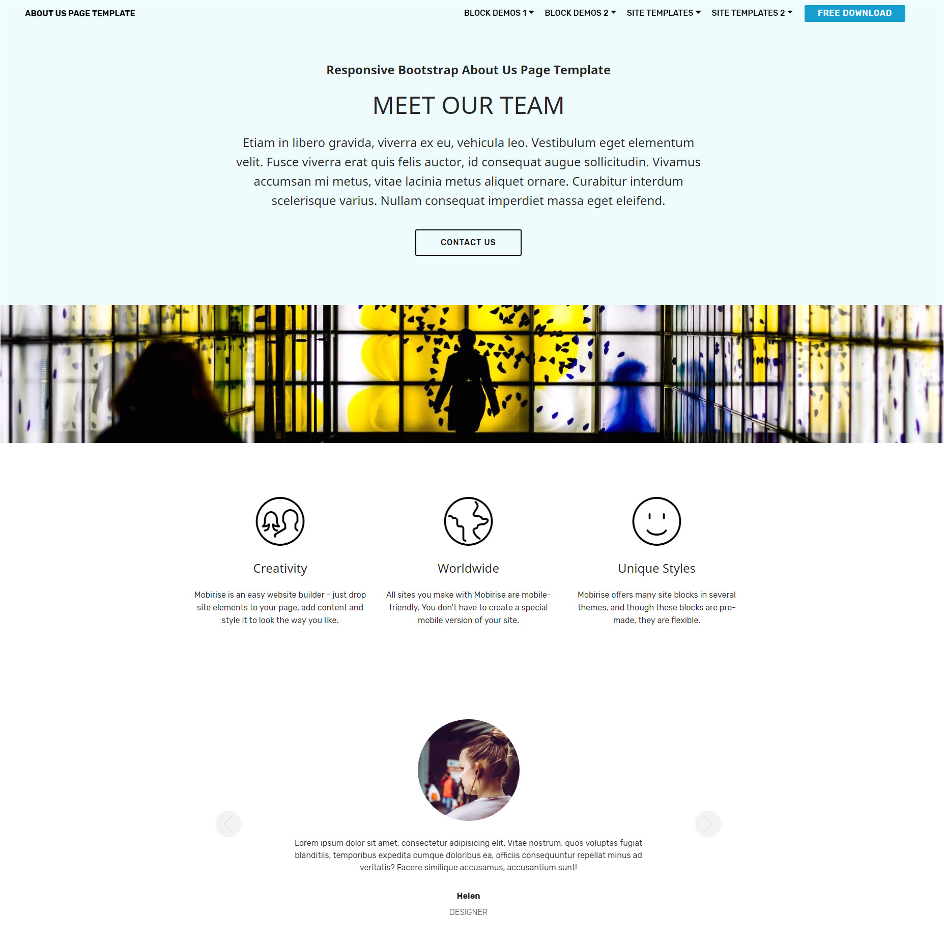 best 57 brand new free download bootstrap themes of 2018 9251