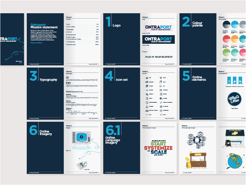 Brand Guidelines Template Pdf 36 Great Brand Guidelines Examples Content Harmony