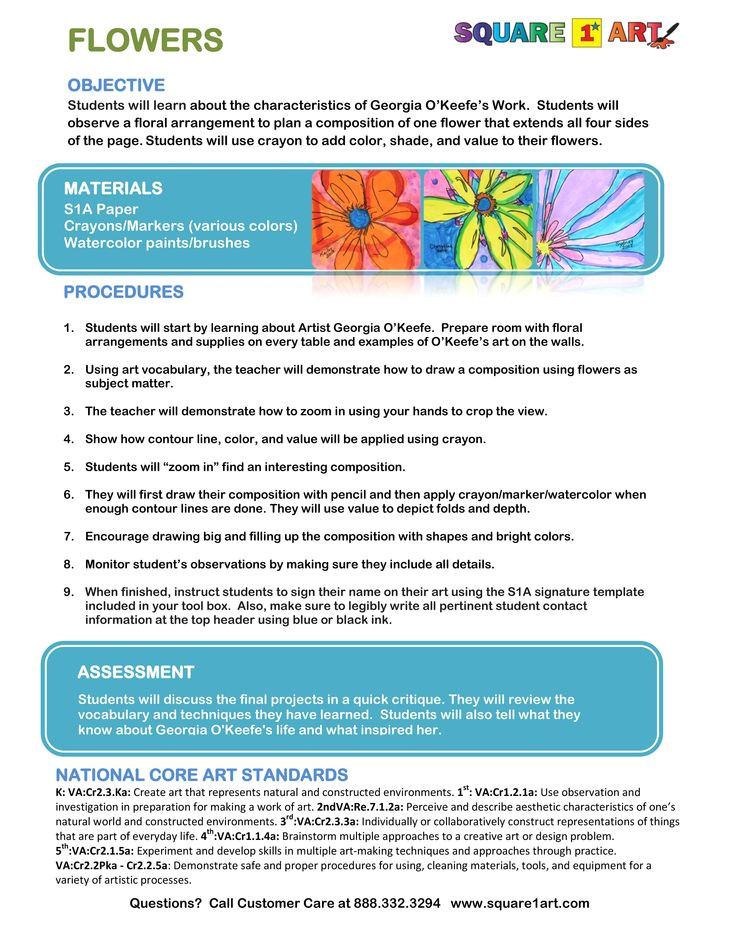 bright from the start lesson plan template download 11 best national art standards lesson plans images on pinterest