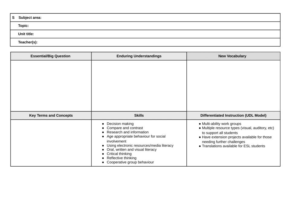 blank lesson plan template pdf ilyadgonbad com printable