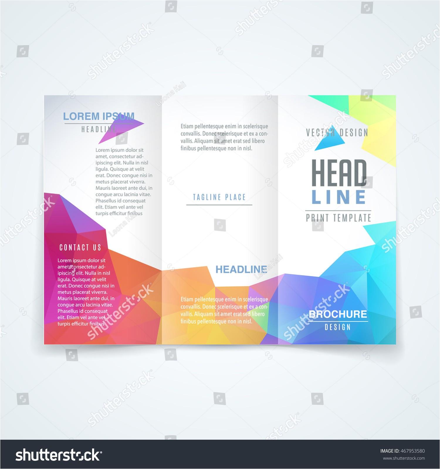 brochure design templates cdr format free download