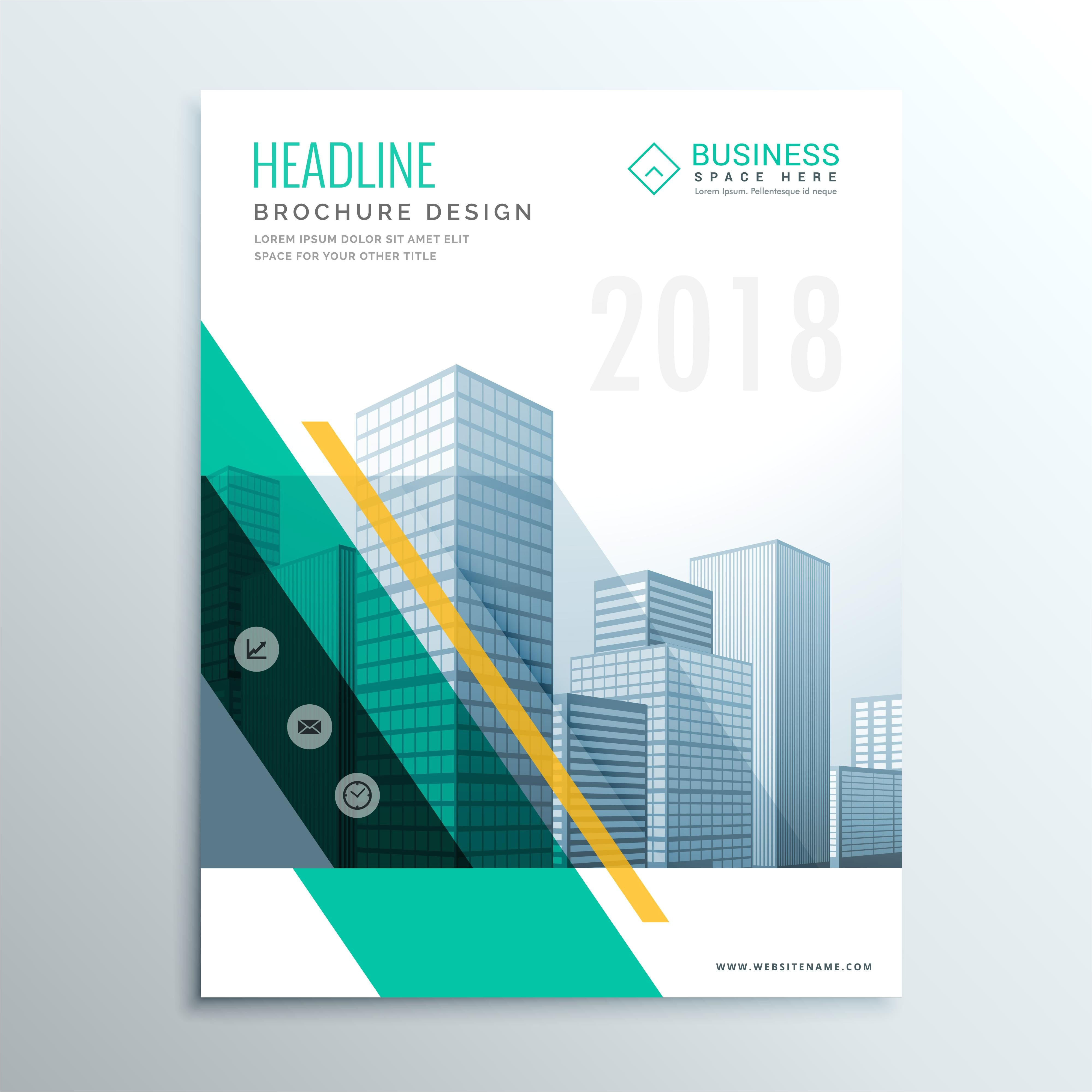 brochure design templates cdr format free download new template brochure design template elegant business cover page