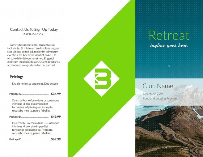 Broshure Templates Free Brochure Templates Examples 20 Free Templates