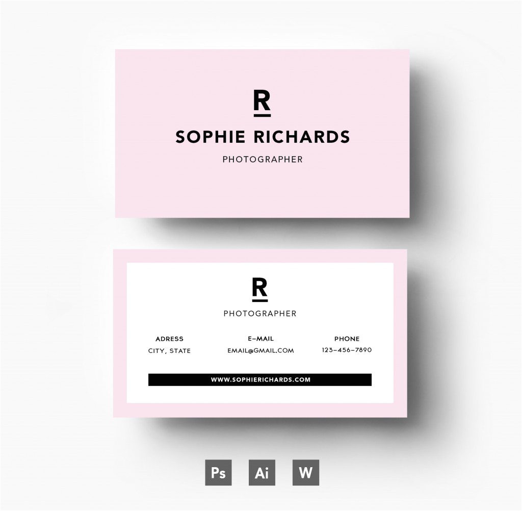 business card template freepik