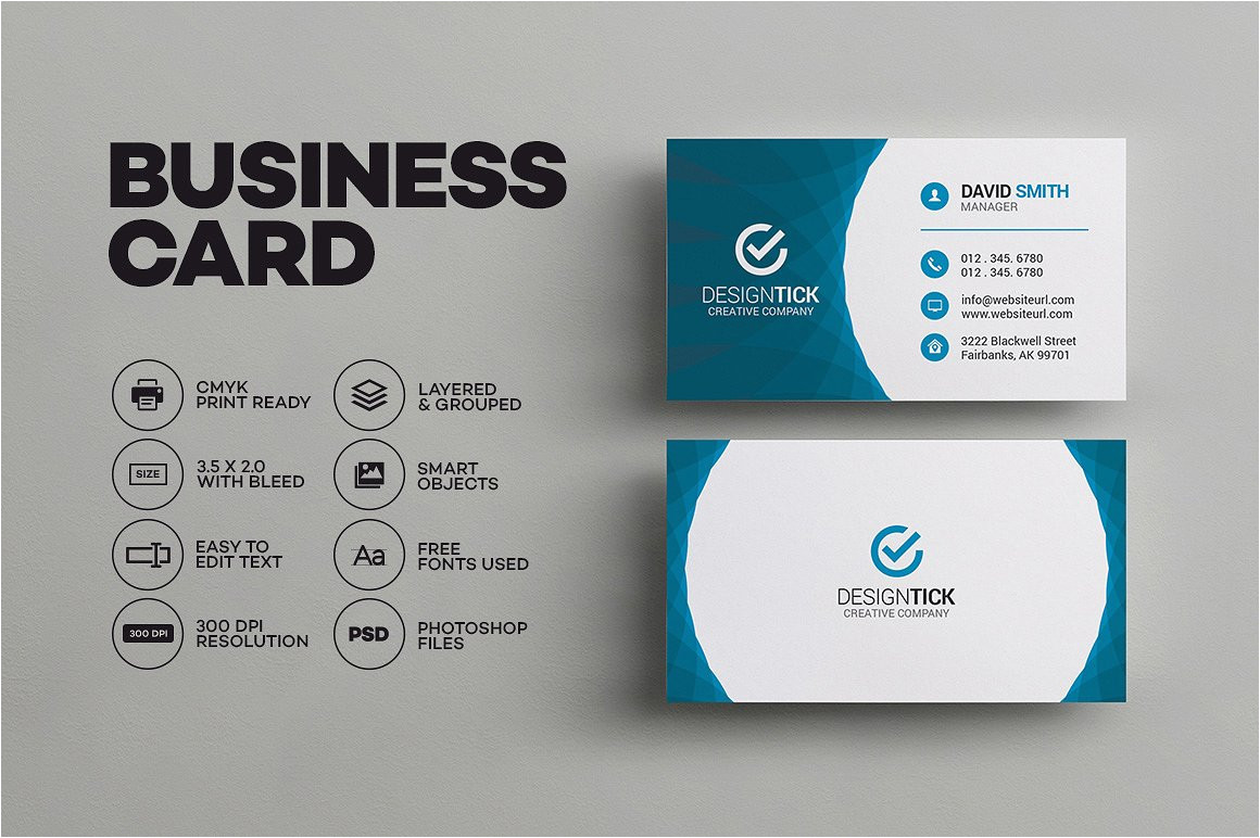 600872 modern business card template
